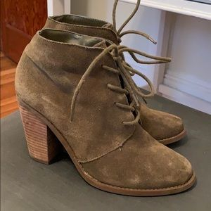 Jessica Simpson Lace Up Bootie